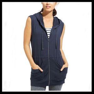 Athleta Lotus Hooded Vest